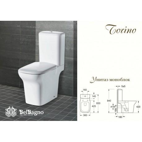 Унитаз моноблок BelBagno Torino