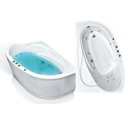 Акриловая ванна Bach Белла угловая 165 на 110 левая правая
