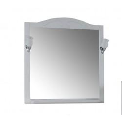 Зеркало Флоренция 105 с полкой и светильниками