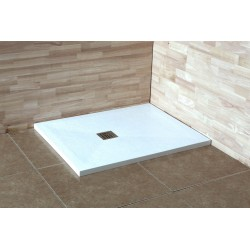 Душевой поддон прямоугольный RGW Stone Tray белый