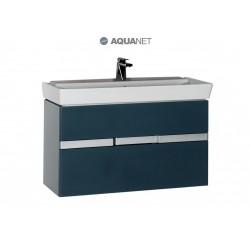 Тумба с раковиной Aquanet Виго 100 подвесная
