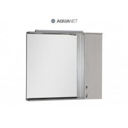 Зеркало-шкаф Aquanet Донна 100 белый дуб