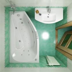 Акриловая ванна Скарлет