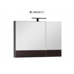 Зеркало-шкаф Aquanet Нота 90 венге