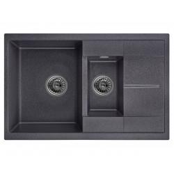 Кухонная мойка Granula 7802 черный