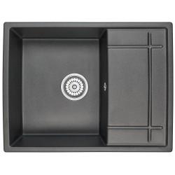 Кухонная мойка Granula 6501 графит