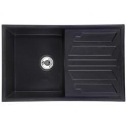 Кухонная мойка Granula 8002 черный