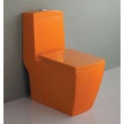 Унитаз Моноблок Оранжевый