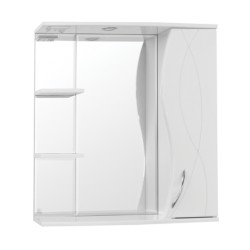 Зеркальный шкаф Style Line Амелия 75