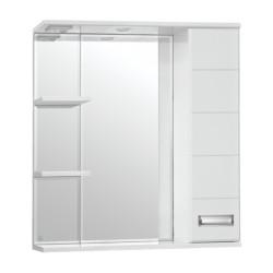 Зеркальный шкаф Style Line Ирис 75 C