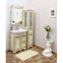 Зеркало Sanflor Адель 65 белый золото