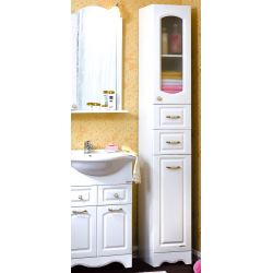 Пенал для ванны Анна 32 белый