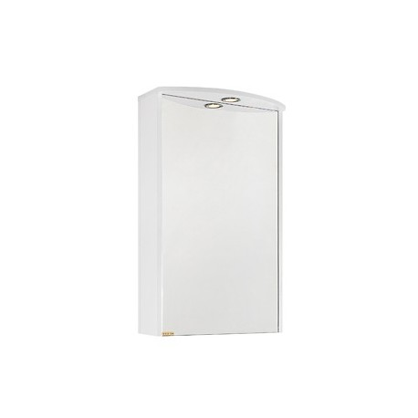 Зеркало Мона 50 белое