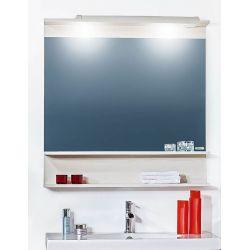 Зеркало для ванной Чили 55 светлая лиственница