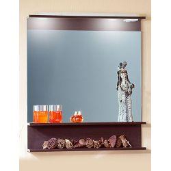 Зеркало для ванной Чили 80 светлая лиственница