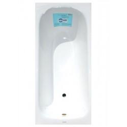 Чугунная ванна Aqualux 160 на 70