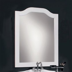 Зеркало Cezares Laura 90 bianco perla frassinato