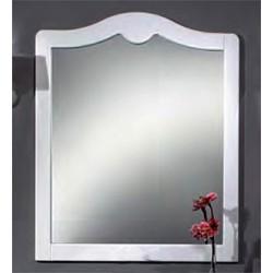 Зеркало Cezares Ischia bianco opaco