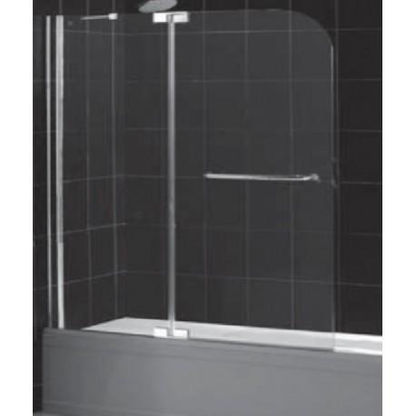Шторка на ванну распашная RGW SC-19 90х150