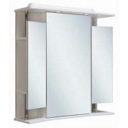 Шкаф зеркальный навесной Руно Валенсия 75