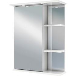 Шкаф зеркальный навесной Руно Магнолия 50