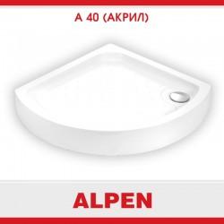 Душевой поддон из акрила Alpen A40-80