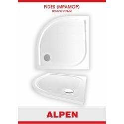 Душевой поддон из литого мрамора Alpen Fides