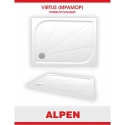 Душевой поддон из литого мрамора Alpen Virtus