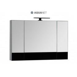 Зеркало-шкаф Aquanet Верона 100 чёрное