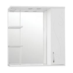 Зеркальный шкаф Style Line Фьюжн Панда 80