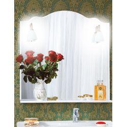 Зеркало для ванной Анна 90 белая