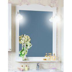 Зеркало для ванной Анна/Лаура 75 белая