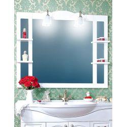 Зеркало для ванной Анна 120 белая