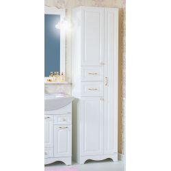 Пенал для ванны Анна 52 белый