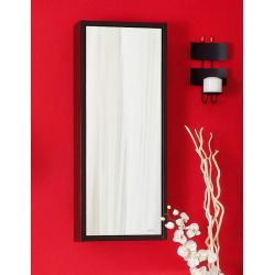 Зеркало Бали 40 венге/белый глянец