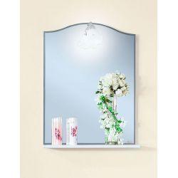 Зеркало для ванной Лючия 60 белый глянцевый