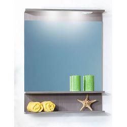 Зеркало для ванной Чили/Куба 70 светлая лиственница