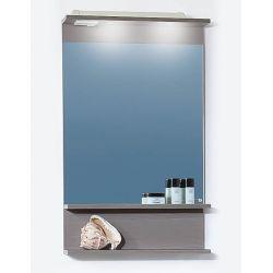 Зеркало для ванной Чили/Куба 55 серая лиственница