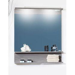 Зеркало для ванной Чили 80 серая лиственница