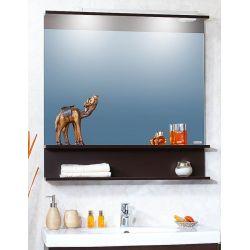 Зеркало для ванной Чили 90 светлая лиственница