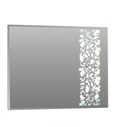 Зеркало Эдель 80, белый