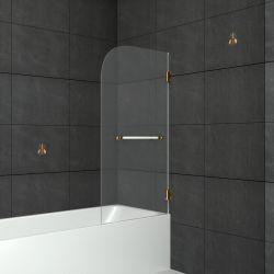 Шторка на ванну распашная маятниковая RGW SC-10