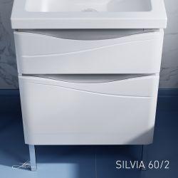 Тумба с раковиной Alavann Silvia 60/2