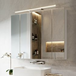 Зеркало-шкаф Alavann Univers 80